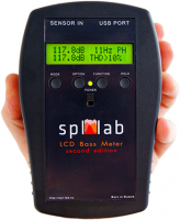 Басметр SPL Lab LCD BASS METER (Second Edition)